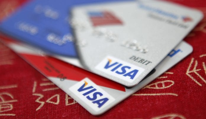 Visa INC card credit