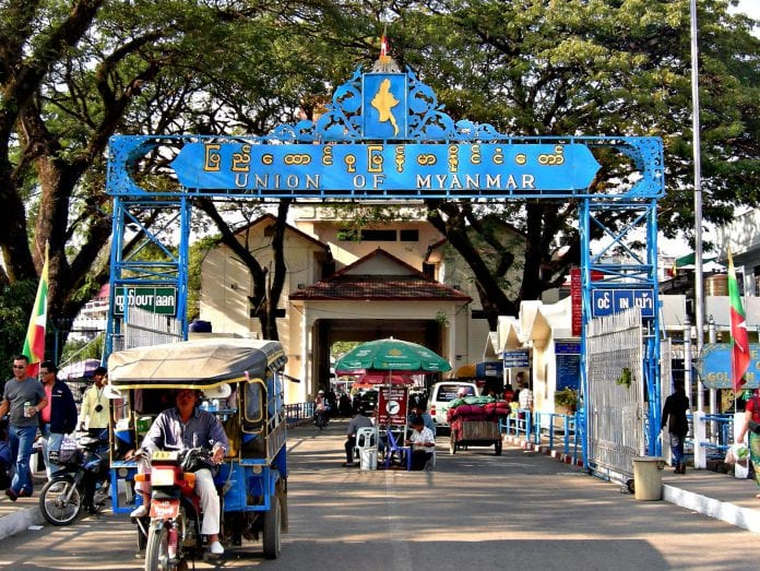 thailand myanmar border gate