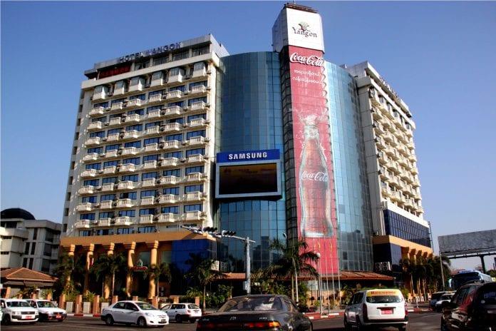 Hotel investment coca cola traffic economy Myanmar yangon (12) - Copy