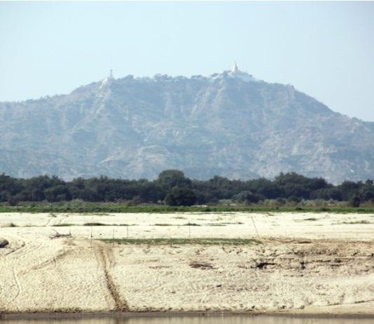 Land grabbing field Bagan river ayeyarwaddy