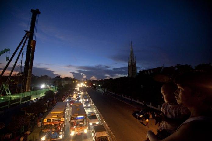 Myanmar economy real estate traffic trade investment