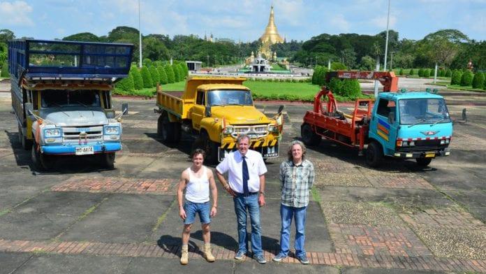 Myanmar top gear burma
