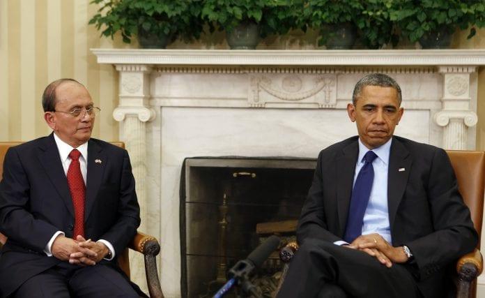 Obama thein sein Myanmar US