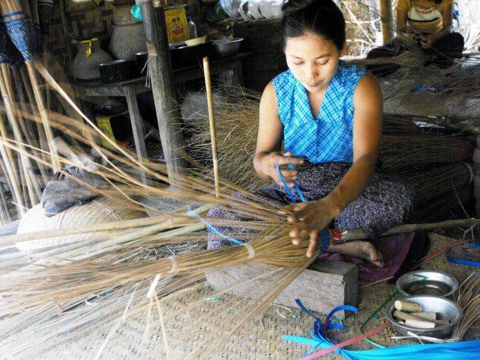SME MFI funded home based income generating activities at village level at _Chaung U