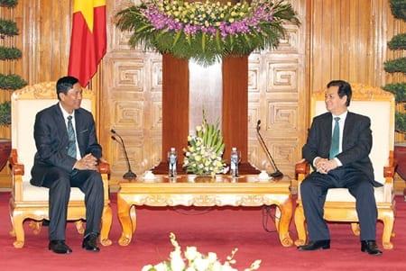 Vietnam Prime minister Myanmar trade minister