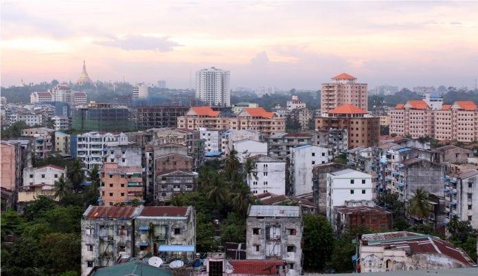 Yangon real estate skyline property river bridge construction trade investment economy (24)