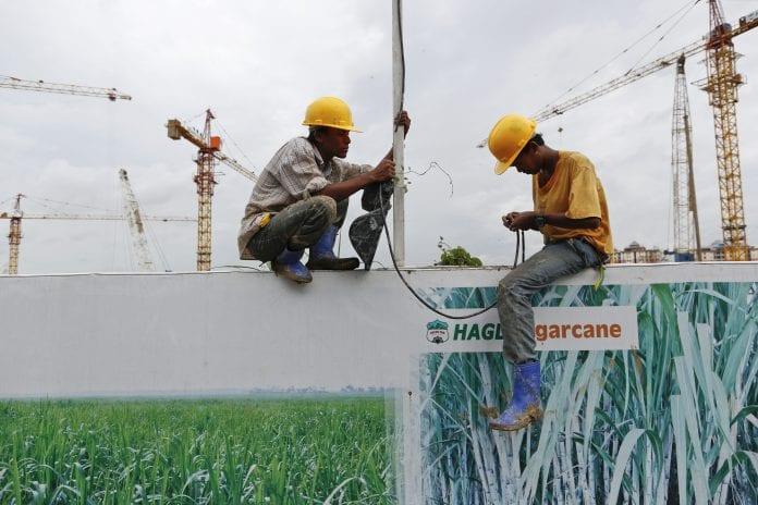 myanmar yangon economy property real estate HAGL construction