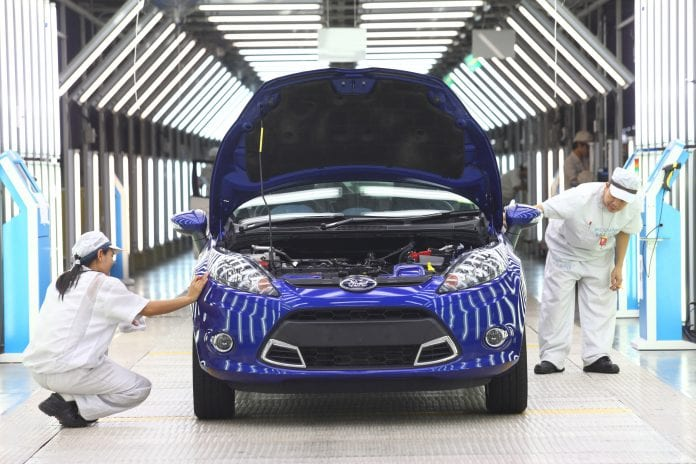 thailand ford factory car rayong