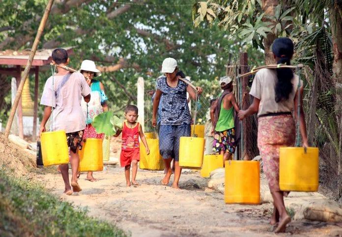 water problem yangon myanmar (2)