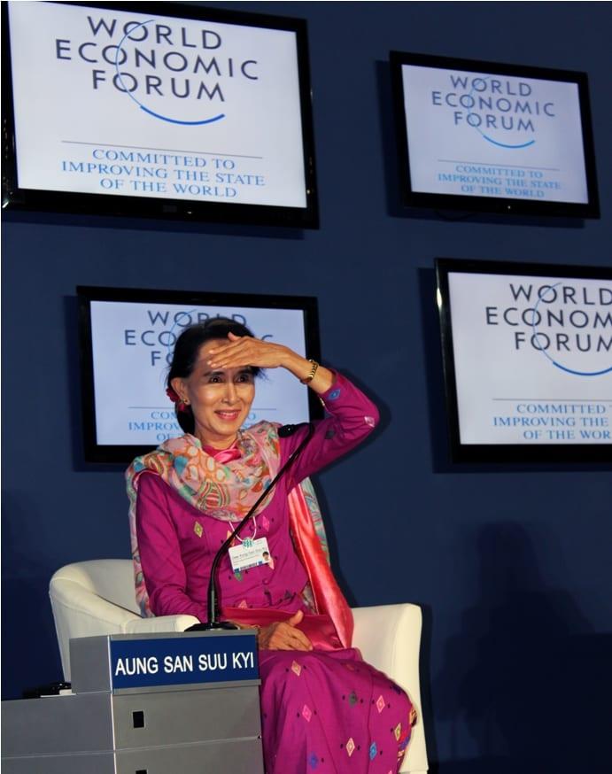 Aung san suu kyi sherpa hossainy Myanmar Business today