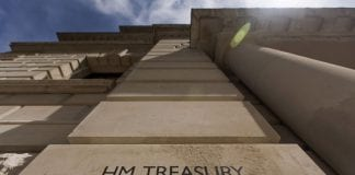 HM Treasury london england tax