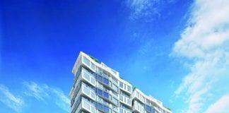 INFINITY High-rise luxury condominium exterior