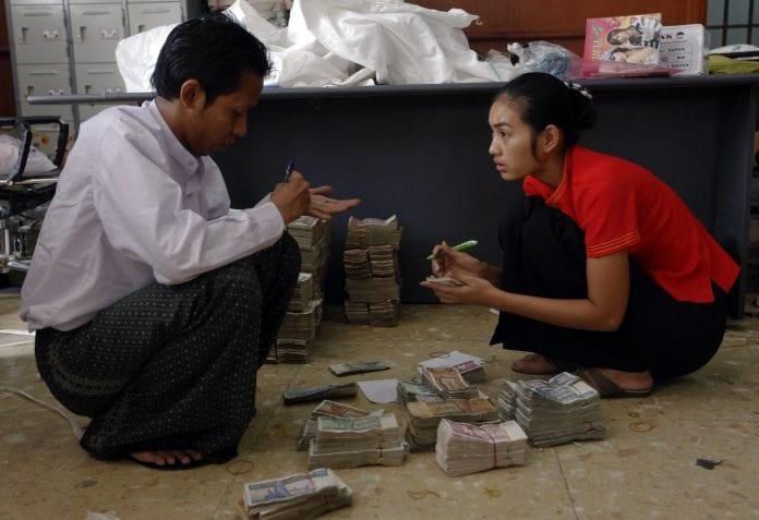 Kyat bank Myanmar