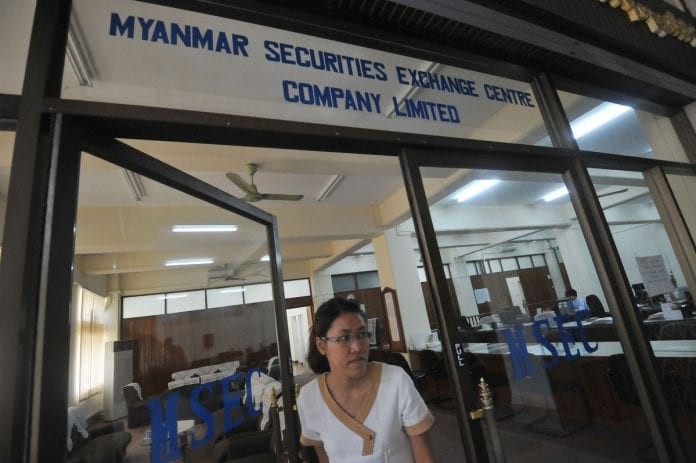 Myanmar securities exchange centre company limited stock
