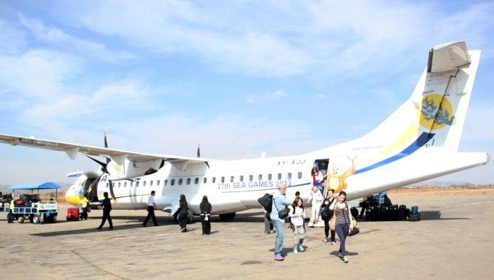 Myanmar tourist aviation KBZ
