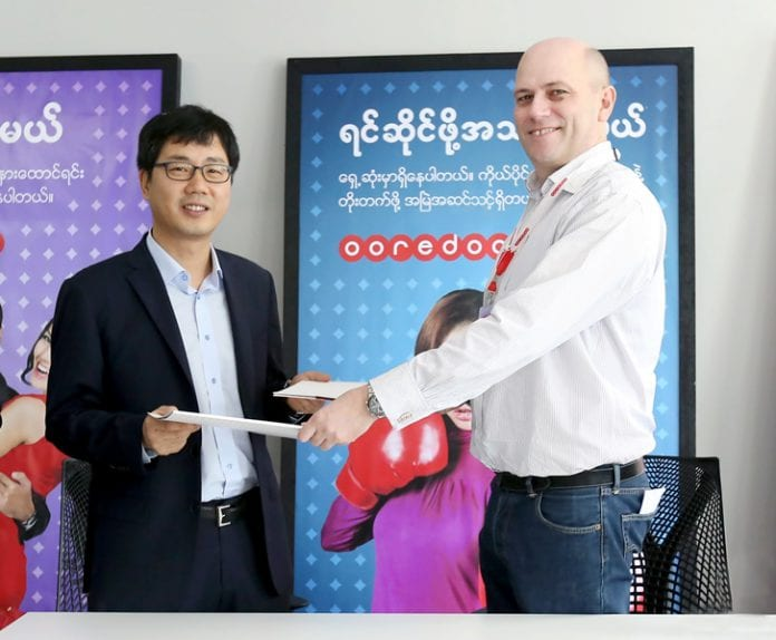 Samsung & Ooredoo Myanmar