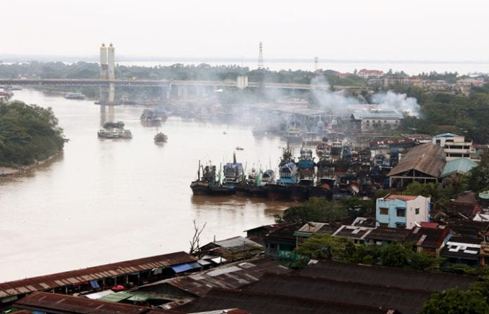 Yangon real estate skyline property river bridge construction trade investment economy (14)