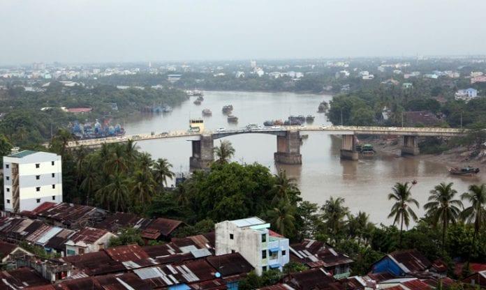 Yangon real estate skyline property river bridge construction trade investment economy (18)