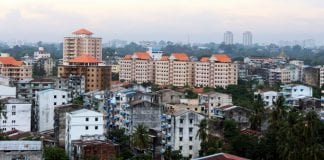 Yangon real estate skyline property river bridge construction trade investment economy (26)