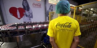 facotry coca-cola Myanmar american investment