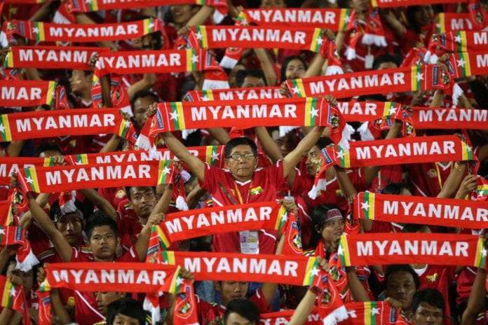 myanmar football team
