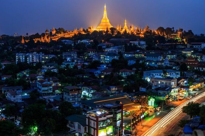 shwedagon electricity yangon
