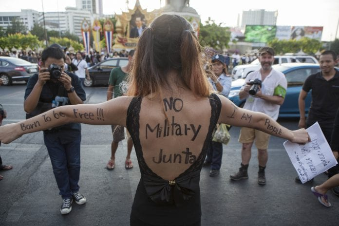 thailand military coup 2