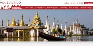 Active travel website screenshot