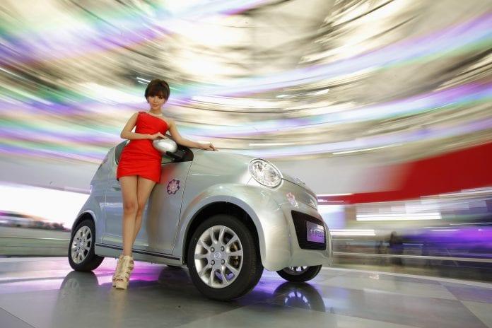 China hybrid car new energy