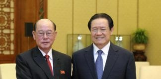 Foreign Minister Ri Su-yong north korea