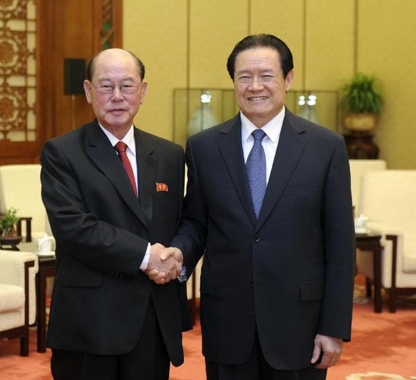 Foreign Minister Ri Su-yong north korea