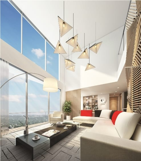INFINITY - High-rise luxury condominium at 77 Kabaaye Pagoda Road Bahan
