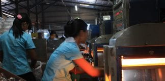 Myanamr garment factory industrial zone yangon EU labour electricity power industry (22)