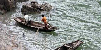 Myanmar Salween Than lwin river