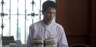 Myanmar kyat dollar bank investment