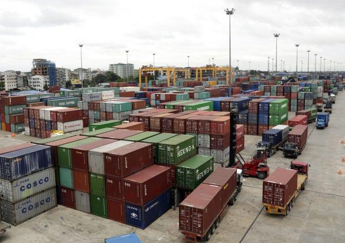 Myanmar port economy container export trade (6)