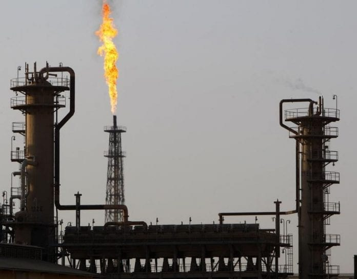 oil refinery reuters