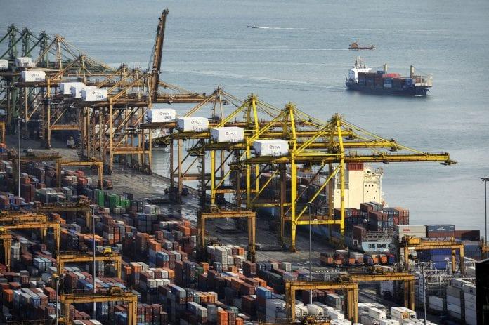 singapore port economy gdp growth