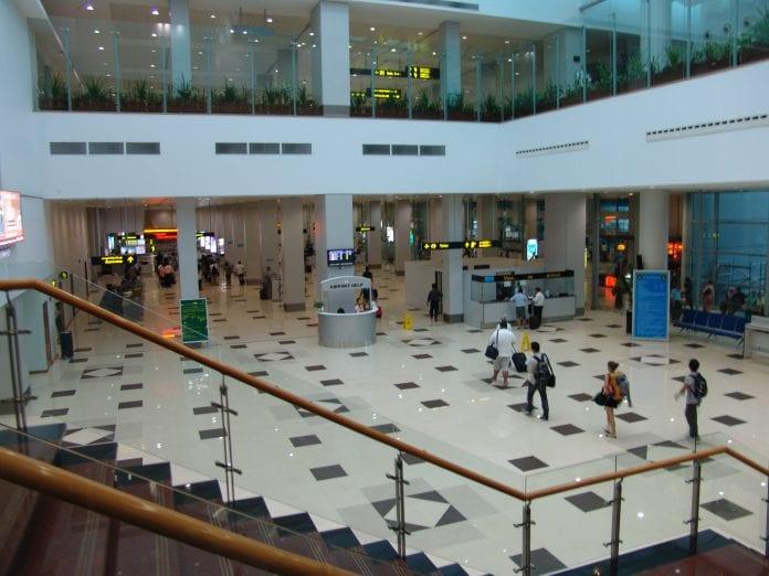 yangon international airport arrival