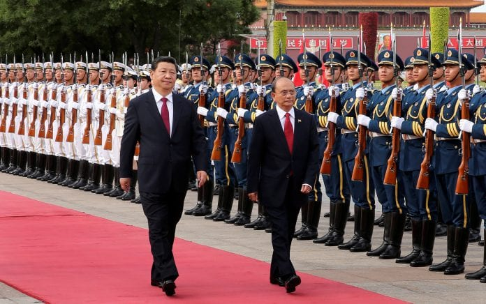 China Thein sein xi jinping (1)
