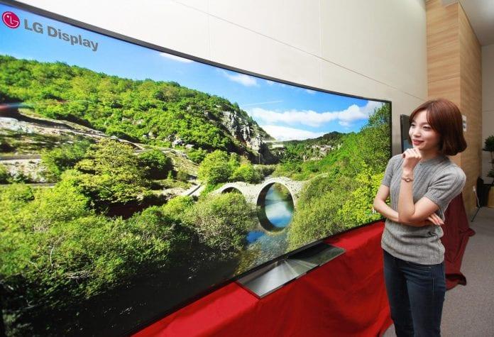 LG 105 inch ultra curved HD
