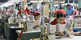 Myanamr garment factory industrial zone yangon EU labour electricity power industry (41)