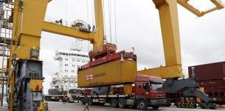Myanmar port economy container export trade (3)