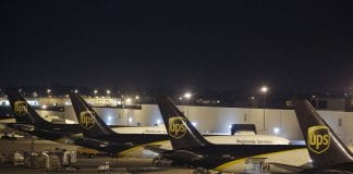 UPS logistics services air freight