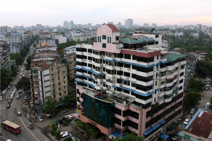 Yangon real estate skyline property river bridge construction trade investment economy (22)