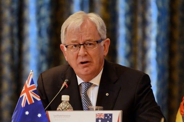 andrew robb trade minister australia
