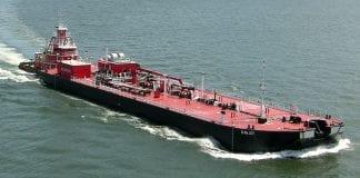 oil tanker barge ship bollingershipyards