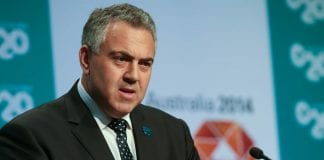Joe hockey treasurer Australia