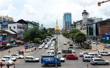 Myamar GDP development growth economy investment traffic sule - Copy