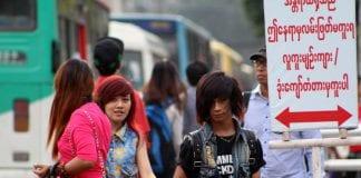 Myanmar population traffic people economy - Copy